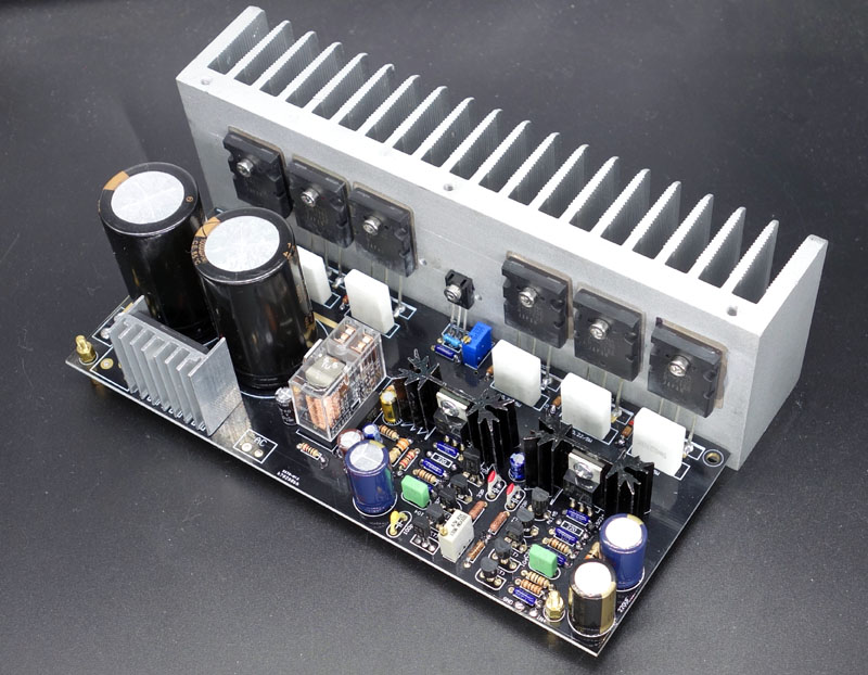200w Stereo High Power Amplifier Lm3886