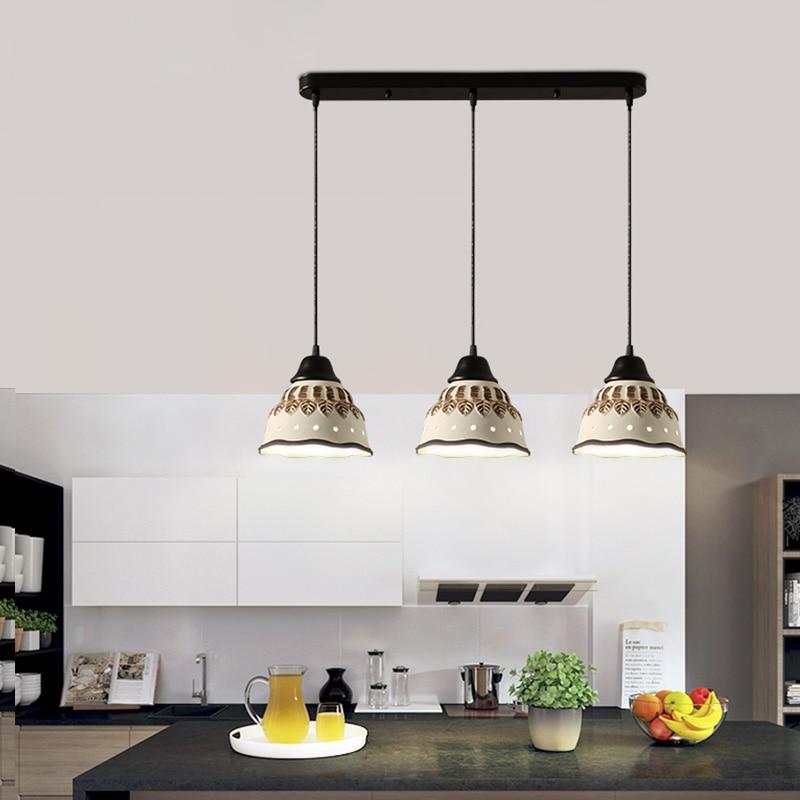 ФОТО LED Light Modern Hanging Lamps Ceramic Bowl Pendant Lights Fixture Nordic Home Indoor Lighting Dining Room Restaurant Droplight
