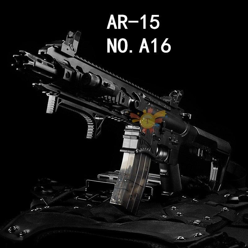 Requin Bouche AR15 pistolet à eau Sous La Fourniture M4 Électrique pistolet à eau Enfants pistolet jouet de Garçon CS jouet fusil