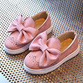Butterfly-knot Toddler Girls Casual Shoes 2017 Baby Slip On Loafers Little Kids Sneakers Brogue Spring Princess Shoes