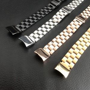 Image 5 - In metallo per Huawei Honor Fascia 4 5 Cinghia Della Fascia Dellacciaio inossidabile Del Braccialetto Accessori per Articoli Elettronica Smart Wristband