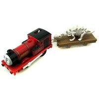 X136 électrique Thomas ami rouge Rheneas et Dinosaures Remorque Compartiments Chinldren Piste maître en plastique jouets