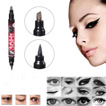 Professional Natural 2 in 1 Waterproof Long-lasting Eyebrow Eyeliner Liquid Eyebrow Pen Pencil Makeup Cosmetic Tools HJL2018