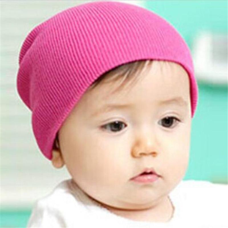 12e79caff087 Jinggton ovale Bébé Beanie Garçon Filles Doux Chapeau Enfants Hiver Chaud  Enfants Cap