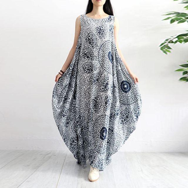 S 5Xl Casual Cotton Linen...