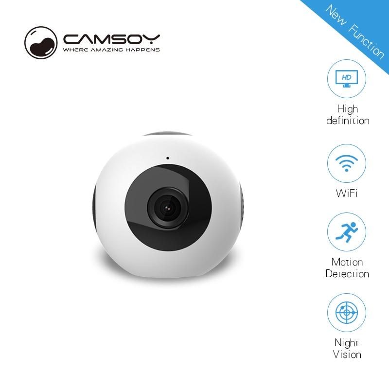 2018 latest mini camera C8 WIFI AP P2P mobile phone connection 140 degree wide-angle camera DVR DV night vision sports camera