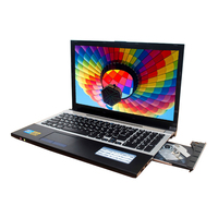 15 6 Inch Fast Surfing Windows7 Notebook Computer 8GB 1TB HDD In Tel Celeron J1900 2