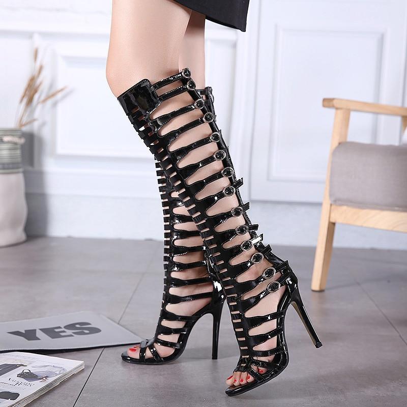 ФОТО shoes woman gladiator sandals women sandalias womens shoes high heels sandals women sapatos feminino chaussure femme