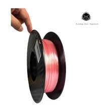 SJLUHS Silk texture 13 Colors 3D Printer Environmentally Friendly Pla 1.75mm Filament 500g