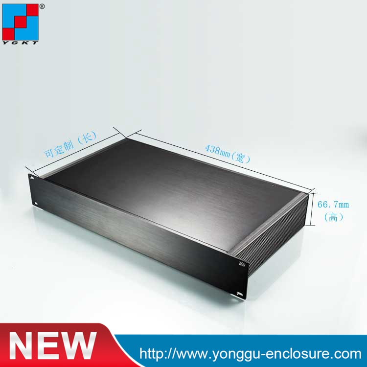 482*66.5-250 mm (wxhxd) 19inch  1.5u instrument chassis rackmount chassis aluminium electrical enclosure 6es5 482 8ma13