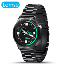Fashion Style GW01 Smart Watch Bluetooth 4.0 IPS Round Screen Life Waterproof Voice Memos Sports Wristband Watch For Android IOS