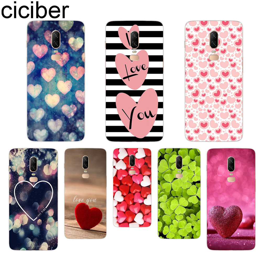 ciciber Heart Love pattern Phone Case For font b Oneplus b font font b 7 b