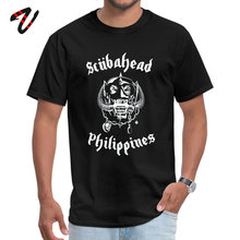 SCUBAHEAD PHILIPPINES O Neck T-shirts NEW YEAR DAY Slim Fit Tops Tees Nirvana Sleeve Ajax Hot Sale All Mit T Shirt Mens