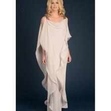 Благородное длинное платье без рукавов для матери невесты элегантное женское платье в пол с кристаллами по индивидуальному заказу