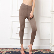 Women Leggings Cashmere Knitted Pants 2016 New Brand Winter Warm Trousers Female Woolen Legging High Elastic Mid-Waist Britches