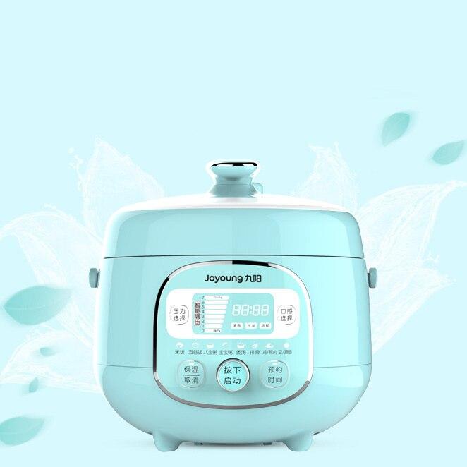 LK337 LED Display Electric Insulation Rice Cooker 2L 600W Mini Electric Reservation Pressure Cooker 8 Gear Pressure Regulator