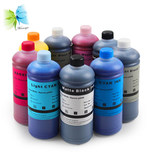 WINNERJET 500ml/bottle 9 Colors Water Based Pigment Ink For Epson Surecolor P600 Printer