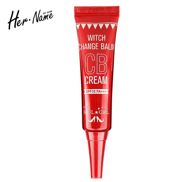 Profesión bb & cc crema base corrector de maquillaje de las señoras corea cosmética polvo desnuda fundación corrector crema para blanquear la piel del bebé
