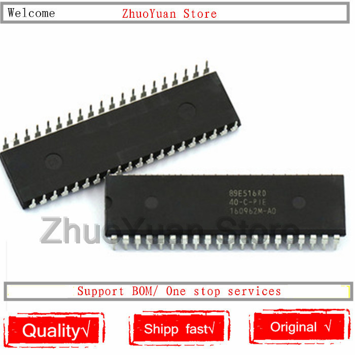 1PCS/lot SST89E516RD SST89E516RD-40-C-PIE SST89E516 DIP-40 New Original IC Chip