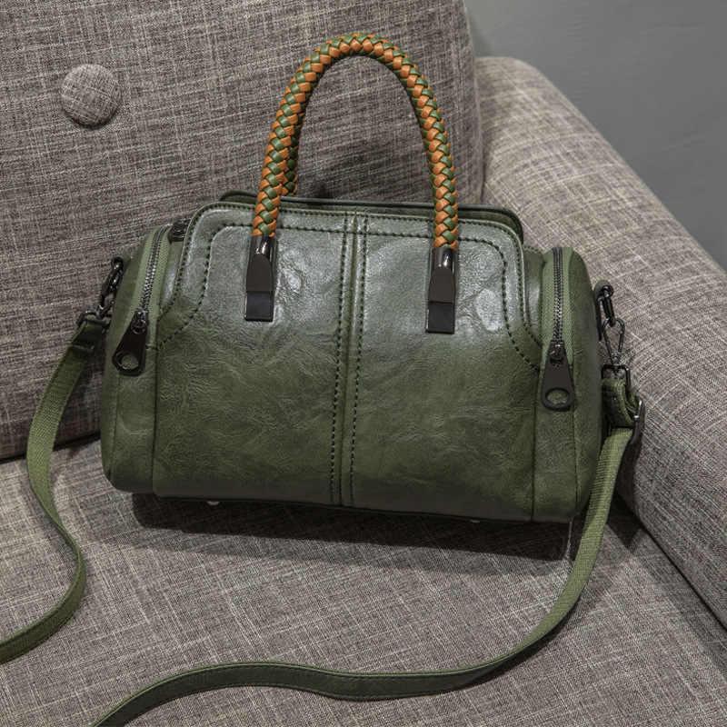 Mewah Handbags Tas Wanita Designer 2019 Besar Wanita Tas Tangan untuk Wanita Crossbody Tas Kulit Tas Tangan Bolsas Feminina Panas C996