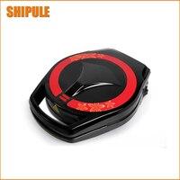 Shipule 무료 배송 1 pcs 220 v 케이크 와플 메이커 기계 자동 다기능 미니 전기 베이킹 팬 팬케이크 기계