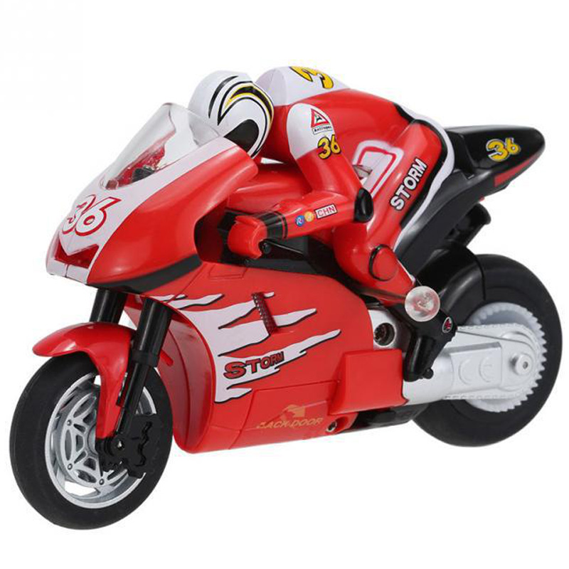 Creat Mini Moto <font><b>Rc</b></font> <font><b>Motorcycle</b></font> Electric High Speed Nitro Remote Control Car Recharge 2.4Ghz Racing Motorbike Of Boy Toy Gift image