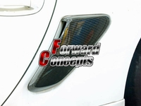 FOR CARBON FIBER 06 11 CAYMAN / BOXSTER 987 SIDE AIR INTAKES VENTS SCOOPS GRILLES