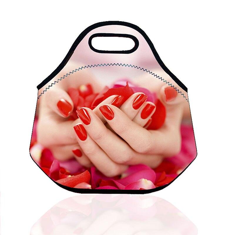 cor 3d coruja dos desenhos Bolsas de Comida Neopreno : Insulated Lunch Bag