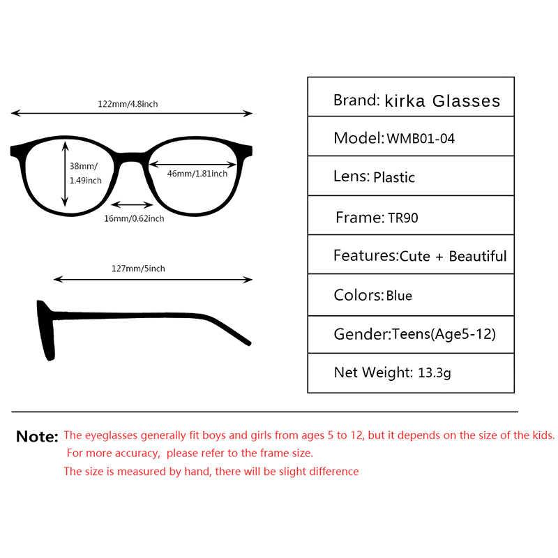 Kirka Kids Glasses TR90 Flexible Children Eyeglasses Protective Kids Glasses Frame Optical Glasses For Kids Spectacle Frame