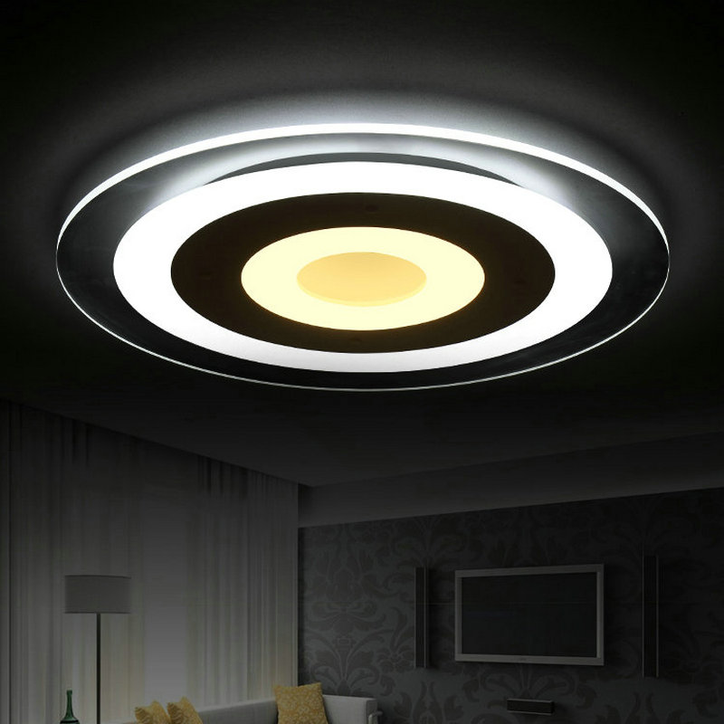 New Design Ceiling Lights : New design modern slim acrylic led ceiling light home