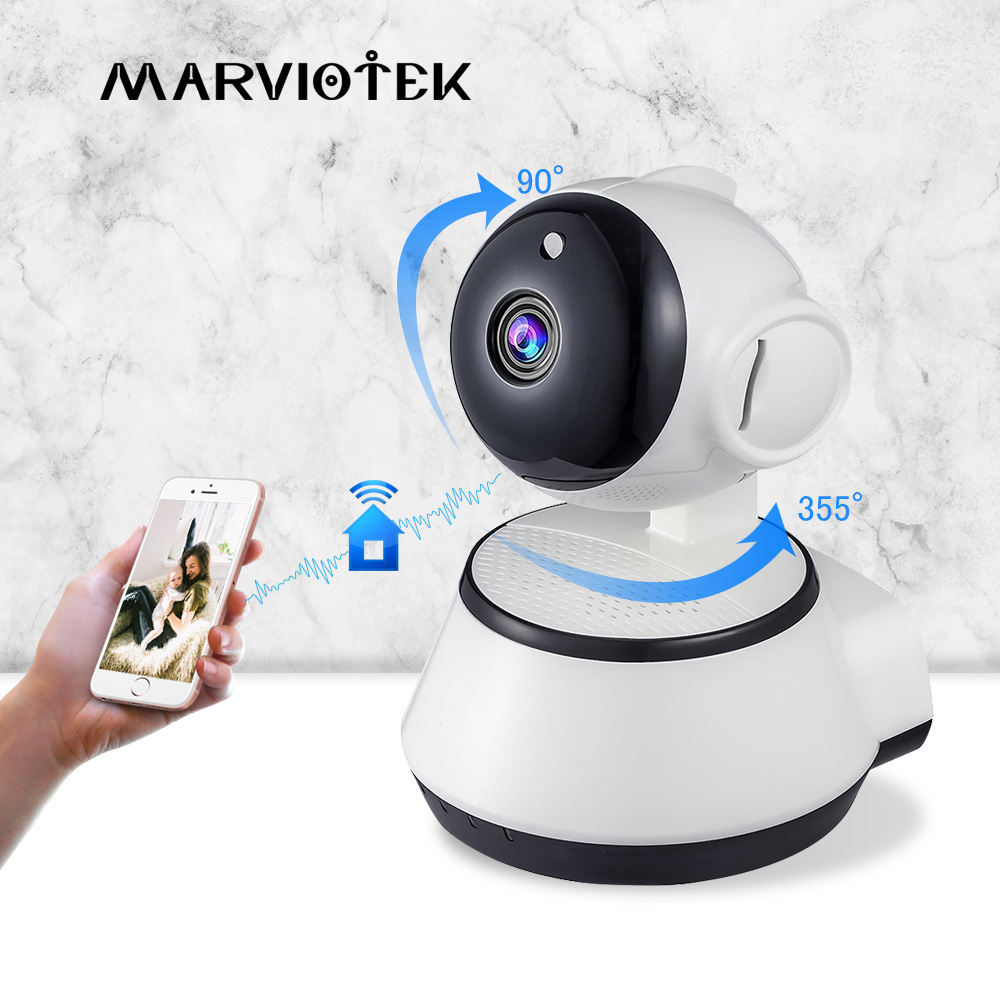 Home Security Baby Monitor WiFi IP Camera Wireless Baby Camera Audio Record Video Surveillance Camera 720P HD Night vision P2P-in Baby Monitors from Security & Protection