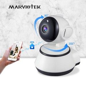 Image 1 - 홈 보안 베이비 모니터 와이파이 IP 카메라 무선 베이비 카메라 오디오 기록 비디오 보모 카메라 720P HD 야간 베이비 전화