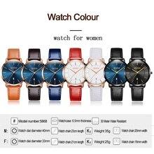 Top Luxury Brand Ladies Watches For Women Ultra thin Watch Rose Gold Casual Quartz Wrist Watch Calendar Clock Relogio Feminino