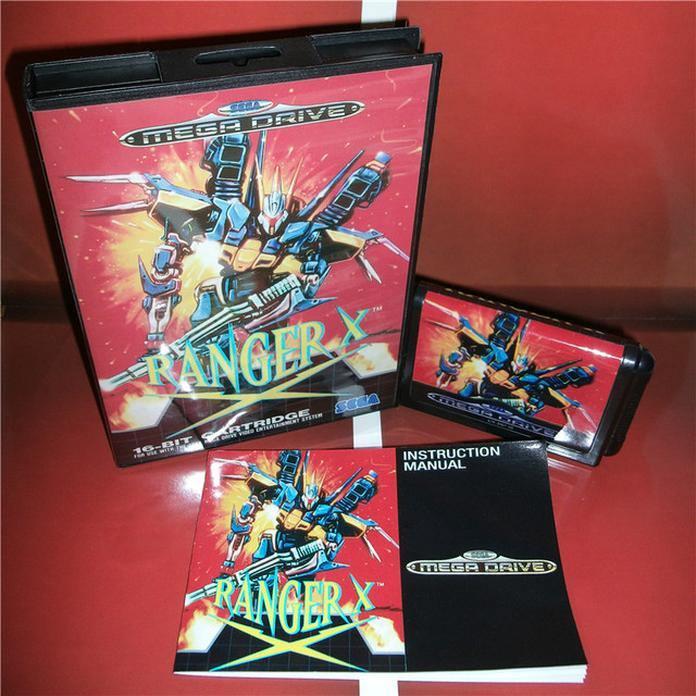 ranger x eu cover with box and manual for sega megadrive genesis rh aliexpress com Game Manual PDF Game Manual PDF
