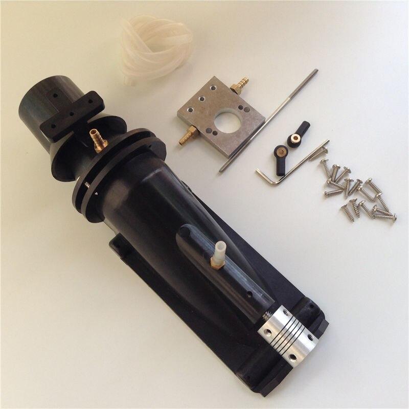 Pulvérisateur de pompe à Jet d'injecteur de pompe à moteur à grande vitesse de propulseur d'eau de trou de 40mm avec le couplage de 5x5 5x4mm pour des bateaux à réaction de RC