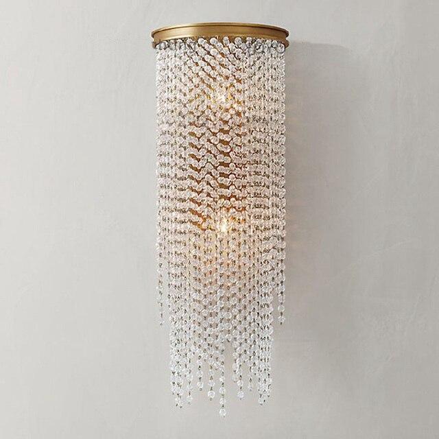 Beleuchtung Projekt | Projekt 5 Sterne Hotel Kristall Wand Beleuchtung Grosse E14 Flur
