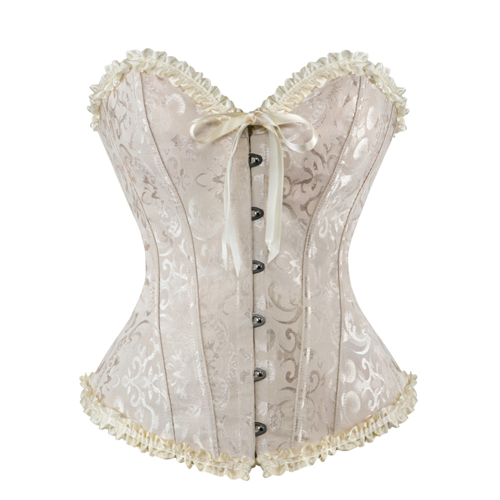 Image 4 - sexy corset lingerie for women plus size  lace corset lingerie-in Bustiers & Corsets from Underwear & Sleepwears