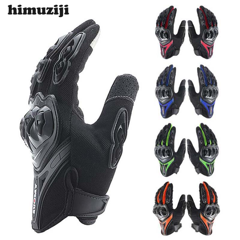 Motorcycle Gloves Touch Screen Luvas Breathable Knight MTB Bike Bicycle Gloves Motocross Off-Road Riding Gloves Moto Gloves