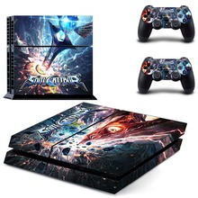 Game Soulcalibur VI PS4 Skin Sticker Decal Vinyl For Sony PS4 PlayStation 4 Console and 2 Controllers PS4 Skin Sticker metro exodus ps4 skin sticker decal vinyl for sony playstation 4 console and 2 controllers ps4 skin sticker