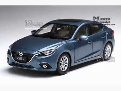 ФОТО NEW MAZDA 3 AXELA 1:18 Sedan car model kids toy alloy original metal diecast Limited collections birthday gift boy 2 color