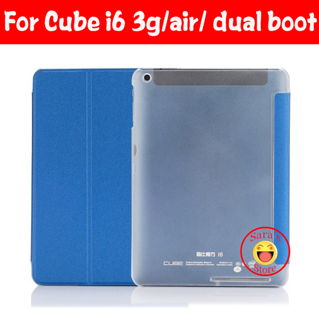 Newset Hoge kwaliteit ultradunne mode Voor 9.7 Inch Cube I6 3g, Voor cube i6 dual boot, Voor cube i6 air 3g dual boot case cover