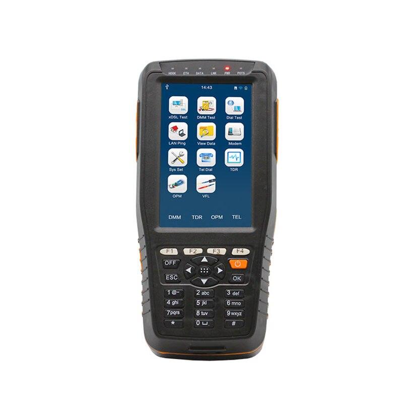 VDSL testeur TM-600 VDSL2 Testeur (ADSL/VDSL2/OPM/VFL/TDR Fonction/Tone Tracker, tout-en-une unité) xDSL ligne test