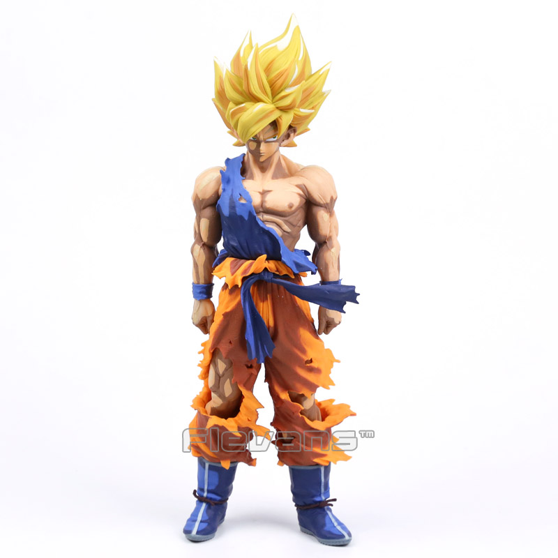 Dragon Ball Z Super Master Stars Piece The Son Goku Super Big 36cm PVC Action Figure Collectible Model Toy 3 Types dragon ball z super big size super son goku pvc action figure collectible model toy 28cm kt3936