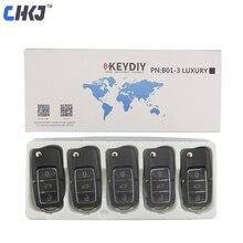 CHKJ 5 cái/lốc Đen B01 3 Nút KD900 Key Từ Xa Cho KEYDIY KD900 KD900 + KD200 URG200 Mini KD Từ Xa điều khiển Nguồn Cung Cấp Thợ Khóa