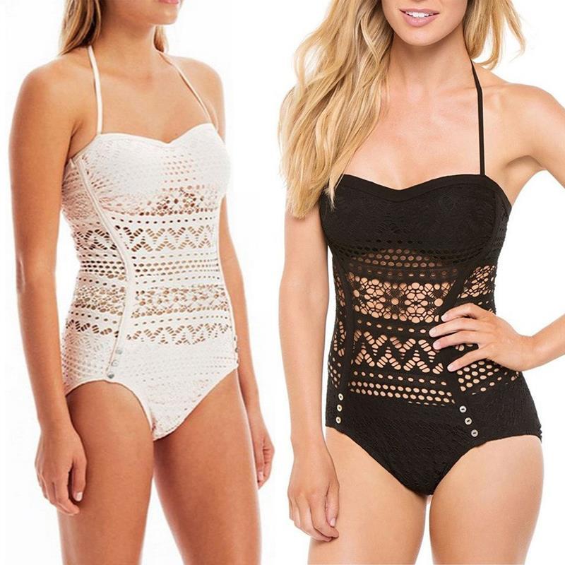 2016 New Womens/ Ladies Sexy Bathing Suit Plus Size Swimwear Crochet Bikini Brazilian Push Up Bra Swimsuit