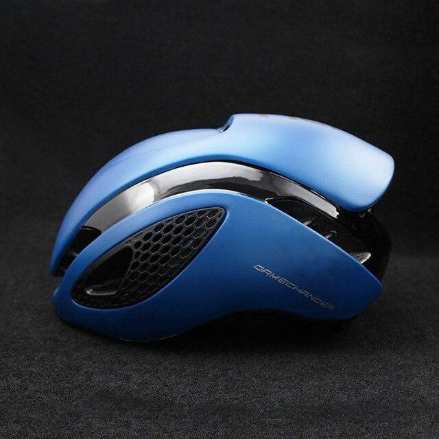 300g aero tt capacete de bicicleta de estrada ciclismo de bicicleta esportes capacete de segurança equitação dos homens de corrida em-molde tempo-julgamento capacete 6