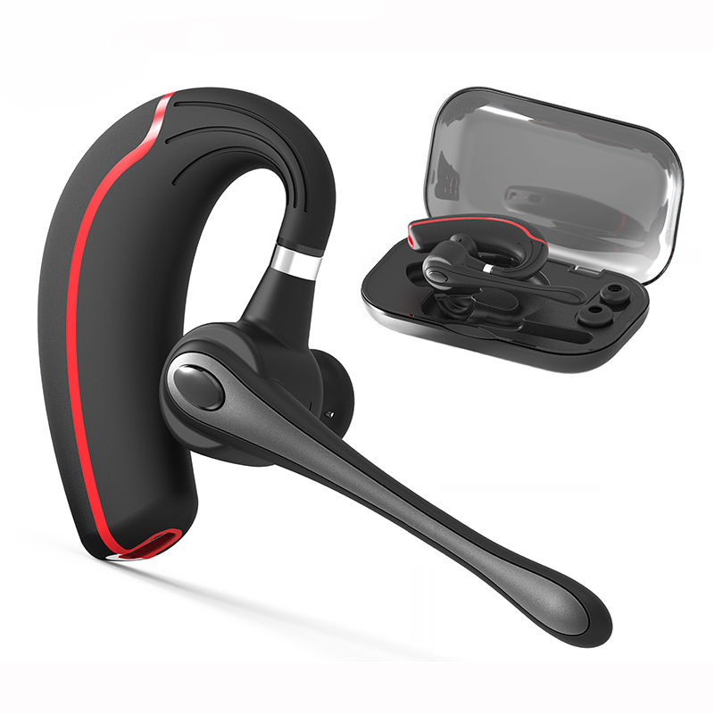 WOLFANG V8 Business Bluetooth Headset stereo Noise Cancelling bluetooth earpiece Handsfree Wireless Earpiece For smartphone a01 bluetooth headset v4 1 wireless headphones noise cancelling with mic handsfree earpiece for driving ios android