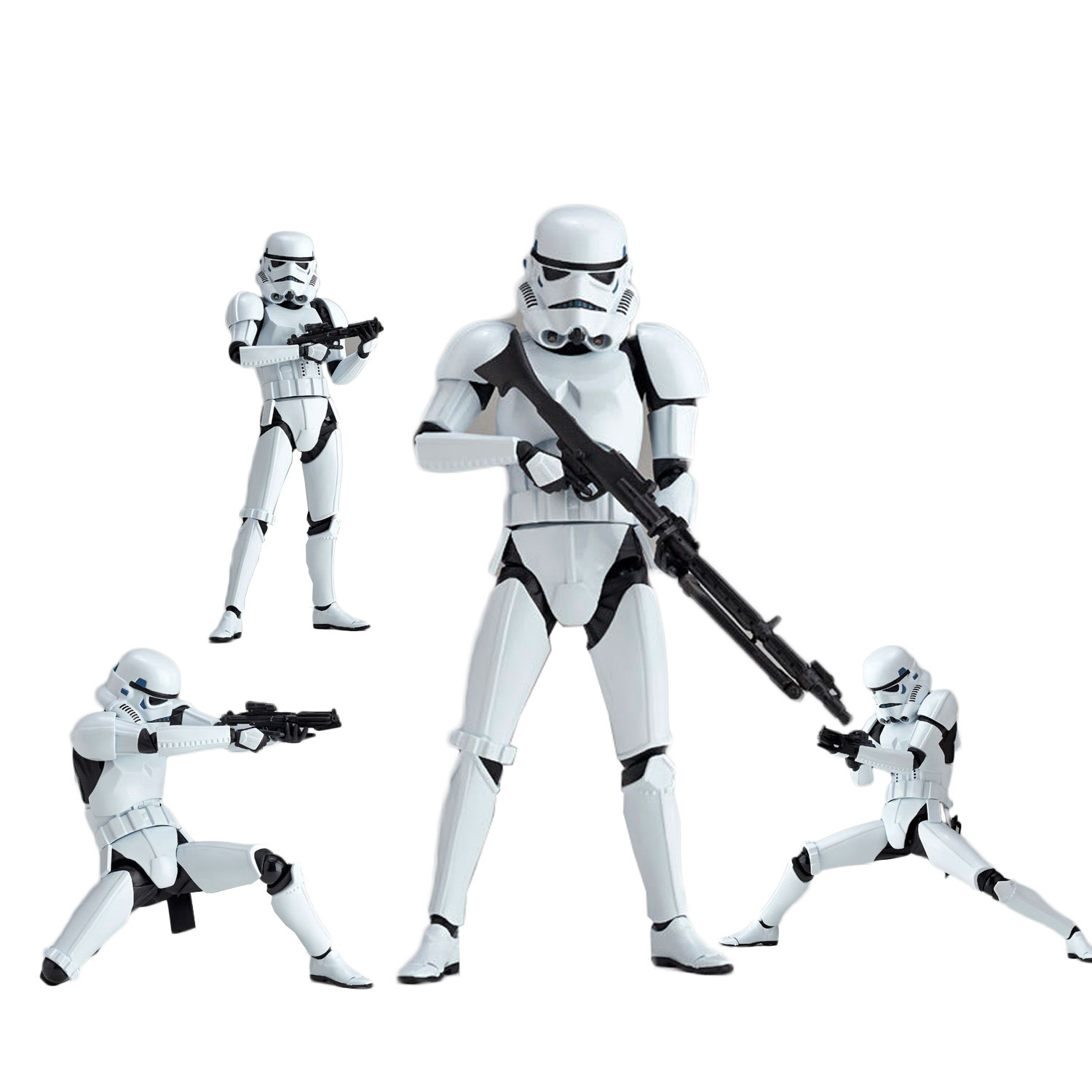 Star Wars:The Force Awakens Storm Trooper 15cm Action Figure Collection Model For Kid Gifts 1071 play arts star wars the force awakens boba fett figure action figures gift toy collectibles model doll 204