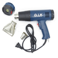 Digital Electric Hot Air Gun Temperature controlled Building Hair dryer Computer Heat gun Soldering Tools Adjustable+ Nozzle
