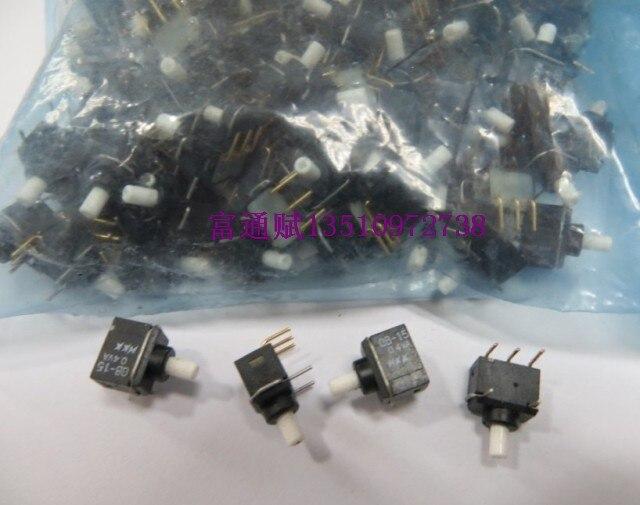 Japonia NKK przywozu przycisk reset przełącznik GB 15 GB 15AH poziome zakrzywione stopy pozłacane przycisk nożny 0.4VA w Przełączniki od Lampy i oświetlenie na AliExpress - 11.11_Double 11Singles' Day 1